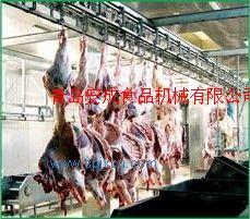 供應牛羊屠宰設備生產流水線