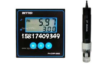 台湾BETTER酸碱度PH/ORP-2002仪表,在线PH计