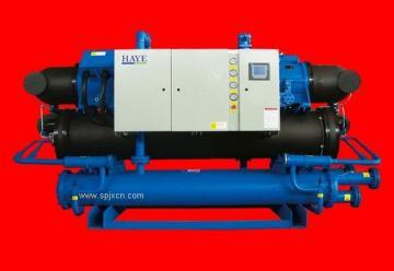 环保型水冷螺杆式冷水机组