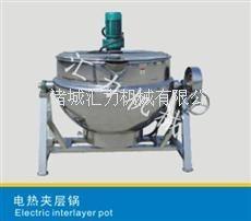 供应可倾式电热夹层锅