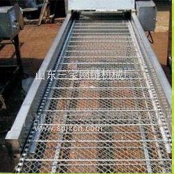 不銹鋼網鏈輸送機