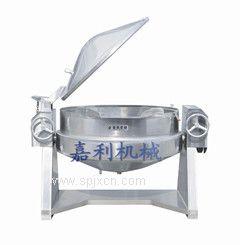 供应可倾式蒸汽蒸煮锅(加盖)
