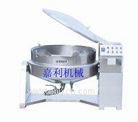 电动可倾加盖蒸煮锅(蒸汽)