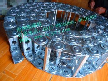 专业厂家供应TLG100钢制拖链TLG100钢铝拖链电缆拖链