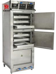 真功夫厨房设备 快餐店厨具双门电蒸饭柜 蒸菜柜