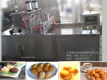 噴油,灌漿一體機,蛋糕機,蛋糕注糊機,蛋黃派機,蛋糕注漿機