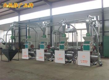 黑龙江小麦磨面机四台磨面机组