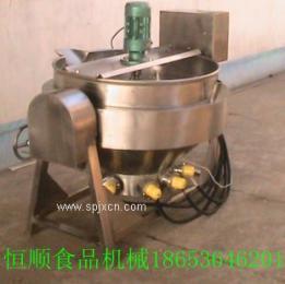 恒顺500L炖肉、炒菜、熬粥厨房专用电热夹层锅