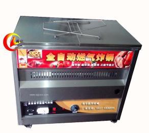 自动控温燃气油炸锅|炸油条锅