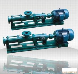 供应G20-1单螺杆泵 单螺杆泵