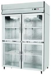 商用冰箱银都直冷经济款JBL0624四门陈列柜