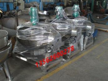 不锈钢可倾式蒸汽夹层锅