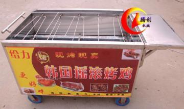 五排旋轉烤雞爐,搖滾烤雞爐,木炭烤雞爐