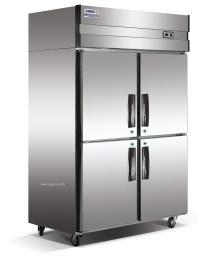 长沙酒店专用4门经济厨房冰箱