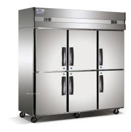 长沙酒店厨房6门单温冷冻柜