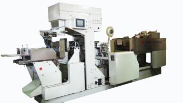 自动捆扎整理纸卷挂面包装机