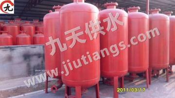 立式无塔供水设备隔膜式稳流罐