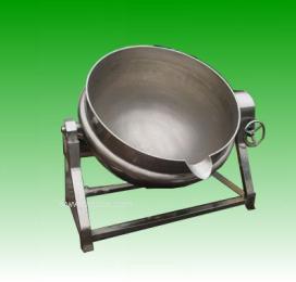 蒸煮锅蒸汽夹层锅夹层锅可倾式夹层锅带搅拌夹层锅