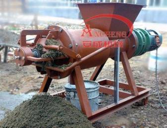 牛糞脫水機丨螺旋擠壓機丨固液分離機