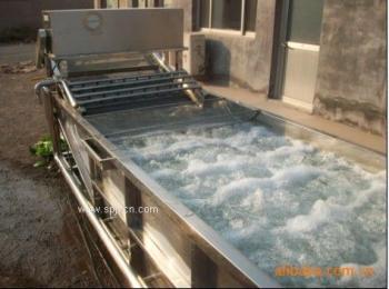 【叶菜类蔬菜清洗机】昊昌鼓泡清洗机-全自动清洗流水线