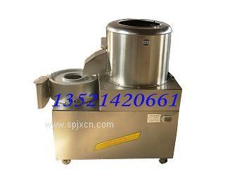 去土豆皮机|土豆去皮切丝机|小型去土豆皮机|电动土豆去皮切丝机|去土豆皮机价格