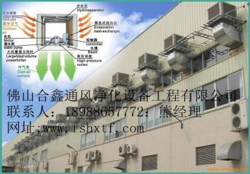 环保空调降温 厂房降温工程 合鑫公司专业制造