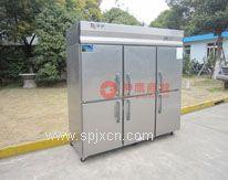 银?#23478;?#33832;六门冰箱,银都六门双机单温冰柜,厨房商用冰箱 经济款