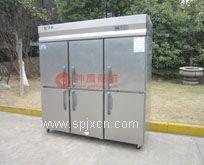 银?#23478;?#33832;六门冰箱,银都六门双机单温冰柜,厨房商用冰箱,铜管系列