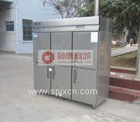 银?#23478;?#33832;六门经济款双机双温冰箱,厨房冰箱,银都六门冰箱