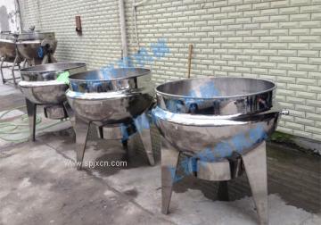 上海科劳-电加热立式夹层锅