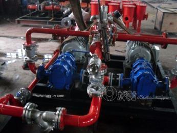 力華車載泵-消防專用柴油機泡沫液泵