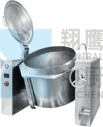 翔鹰蒸汽夹层锅 豪华型煮锅 双面联体熬煮汤锅