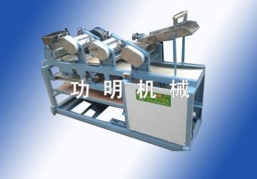 功明饺子皮馄饨皮机器
