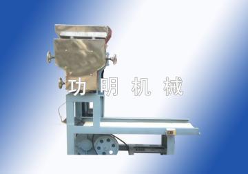 小型饺子皮机器,功明食品机械