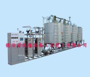 CIP全?#36828;?#28165;洗消毒灭菌系统  乳品果汁生产线  CIP清洗系统