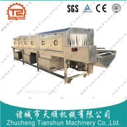 肉制品单冻盘清洗机/速冻盘清洗机/厂家直销海鲜集装筐清洗设备