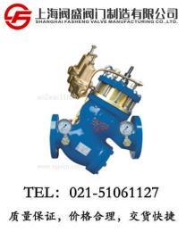 过滤活塞式可调减压流量控制阀