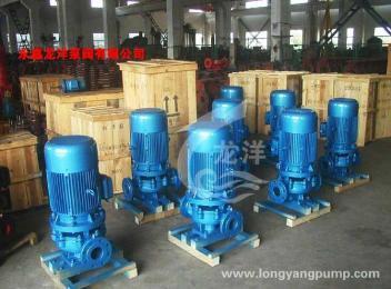 IRG单级单吸热水管道泵