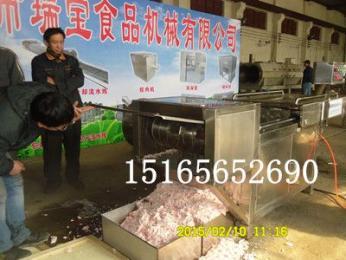 大型凍肉切塊機