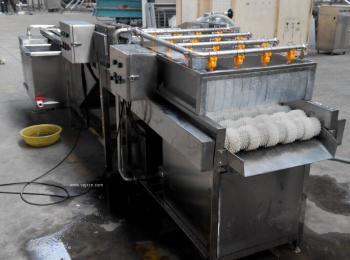 草莓清洗机 气泡清洗设备 昊昌清洗流水线