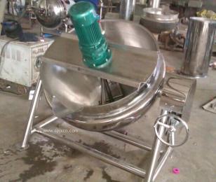 供應強大可傾式夾層鍋