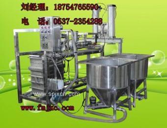 富民机械厂供应豆制品机械 第9代全自动感应豆腐皮机新一代