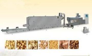 新型高效拉絲蛋白膨化機