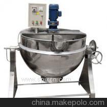 不锈钢夹层锅 高温高压蒸煮锅蒸汽夹层锅