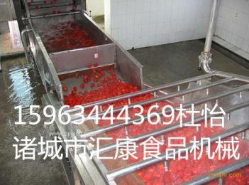 自动木须菜清洗机,自动洗菜机器,生产叶菜清洗设备,操作简单