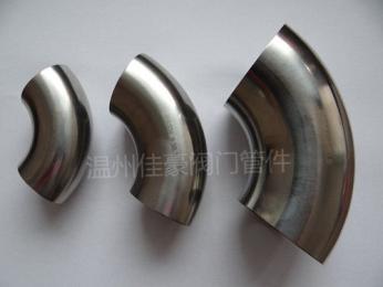 304不銹鋼衛生級對焊接式彎頭