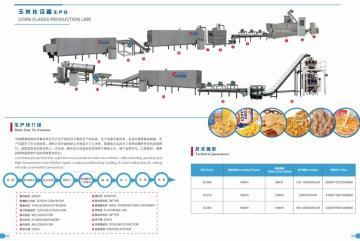 推薦玉米片設備生產線