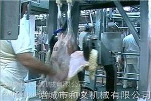 和義HY羊屠宰設備 羊屠宰線 羊肩背剝皮機