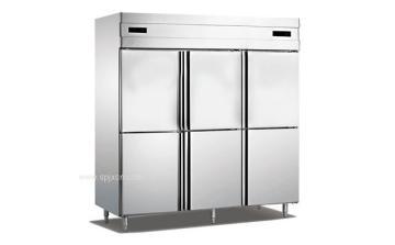 厨房六门立式不锈钢门冷柜,安德利冷柜,环保节能,质量保障