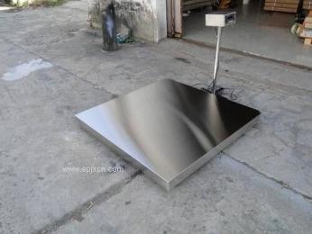廠家供應不銹鋼電子地磅秤防水地磅秤,寶山地磅價格